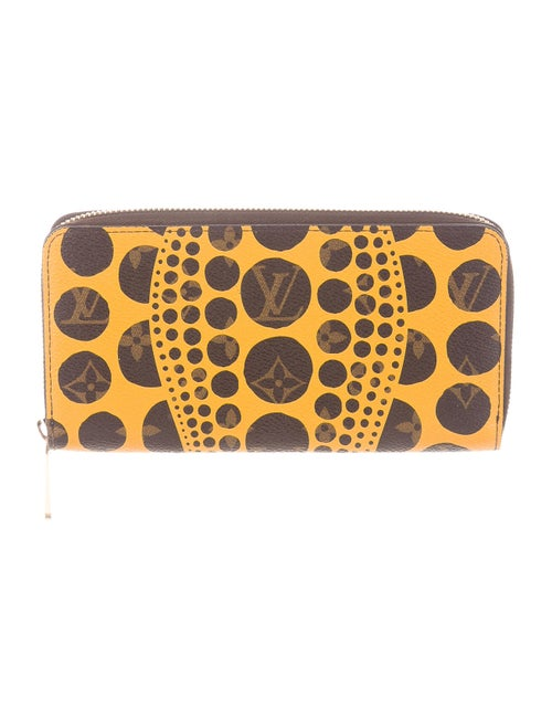 Louis Vuitton Monogram Pumpkin Dots Zippy Wallet m