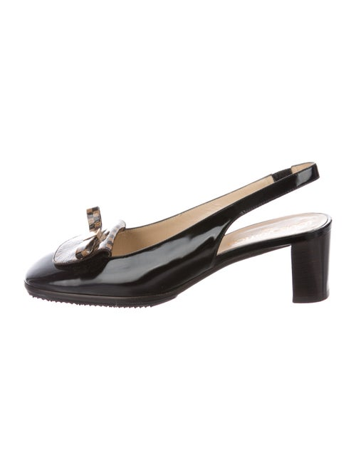 Louis Vuitton 2001 Slingback Ebene Slingback Pumps