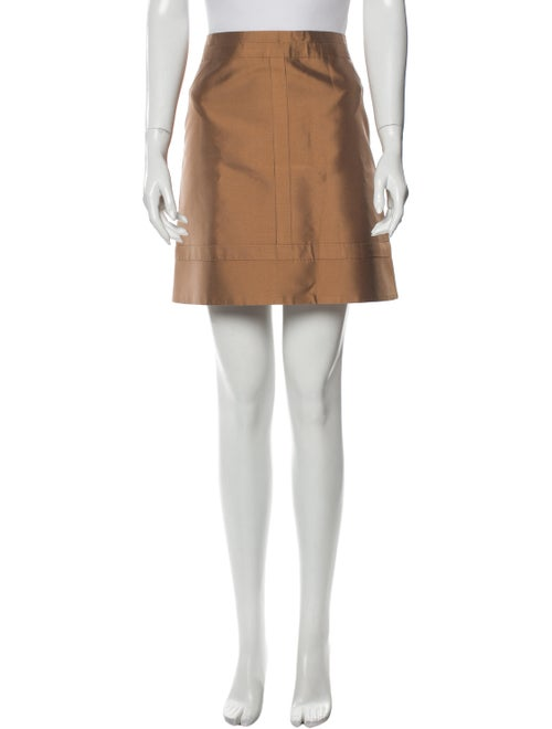 Louis Vuitton Silk Mini Skirt