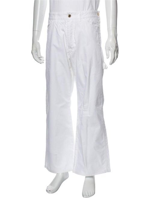 Louis Vuitton Bootcut Jeans White