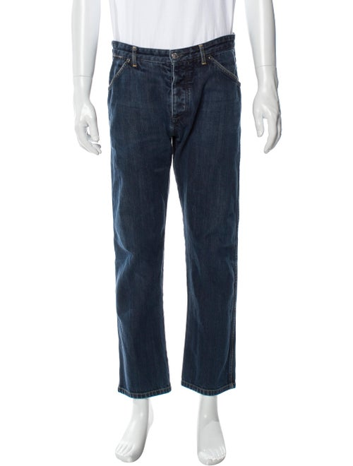 Louis Vuitton Relaxed Fit Jeans Blue