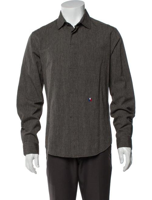 Louis Vuitton Long Sleeve Shirt Grey