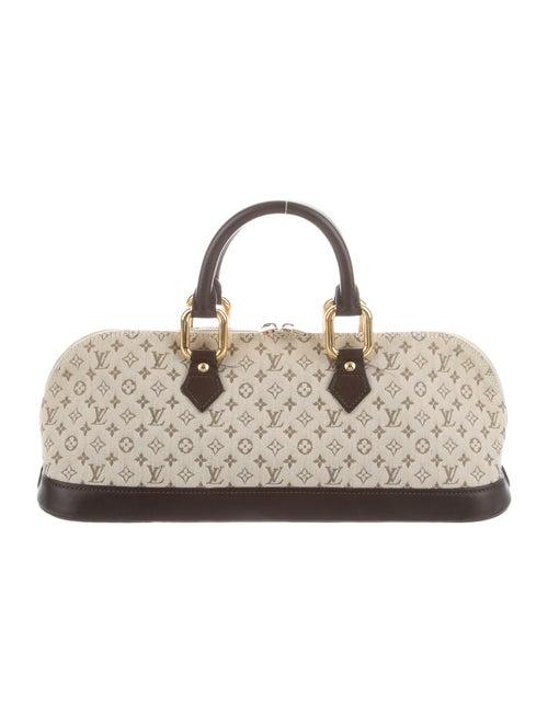 Louis Vuitton Mini Lin Alma Long Bag Beige