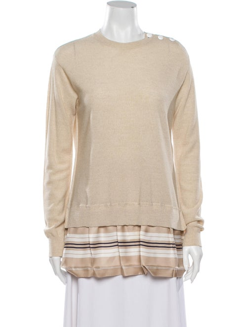 Louis Vuitton Merino Wool Striped Sweater Wool