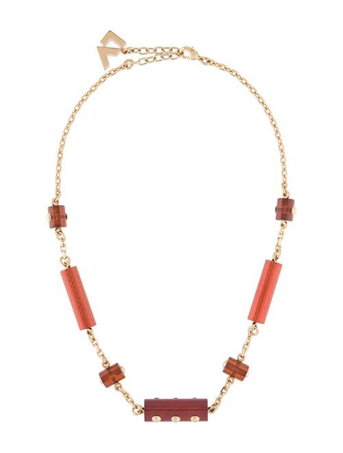 Louis Vuitton Circus Necklace Gold