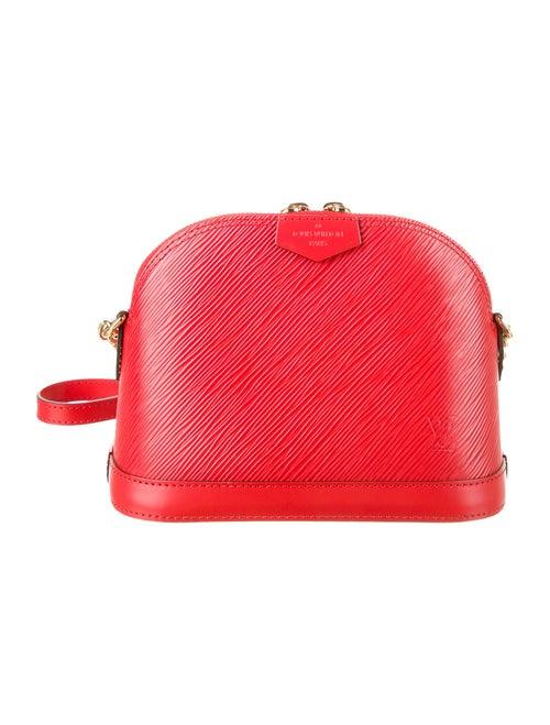 Louis Vuitton 2018 Epi Mini Alma Bag Red