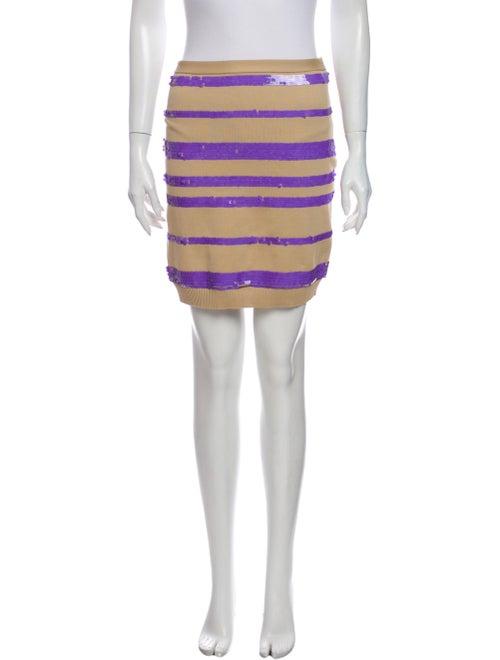 Louis Vuitton Striped Mini Skirt w/ Tags