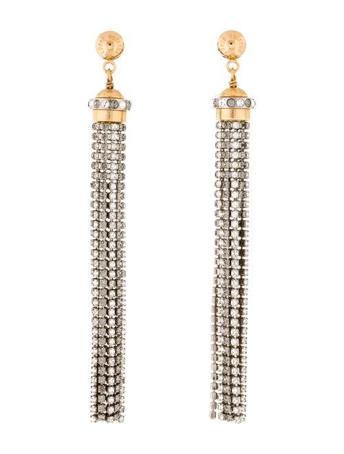 Louis Vuitton Strass All That Jazz Tassel Drop Ear