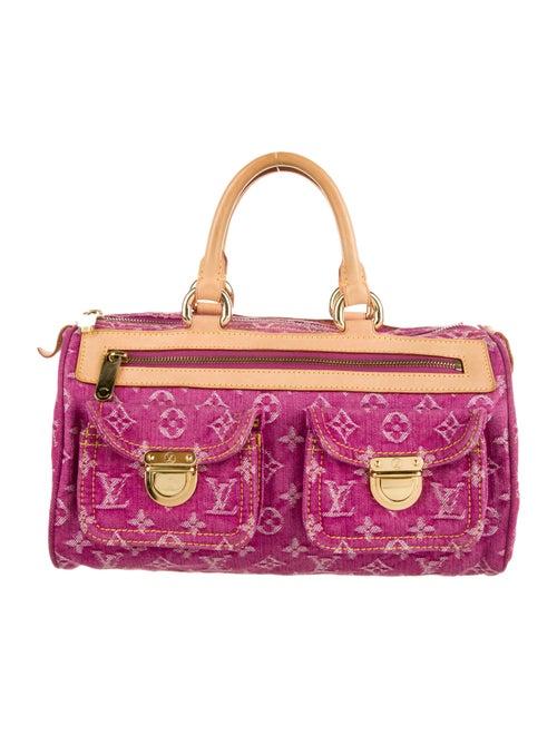 Louis Vuitton Monogram Denim Neo Speedy Pink