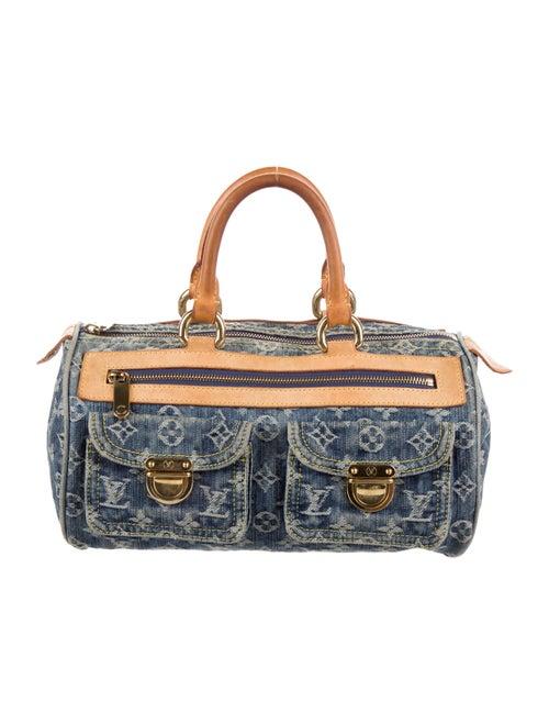 Louis Vuitton Monogram Denim Neo Speedy Bag denim