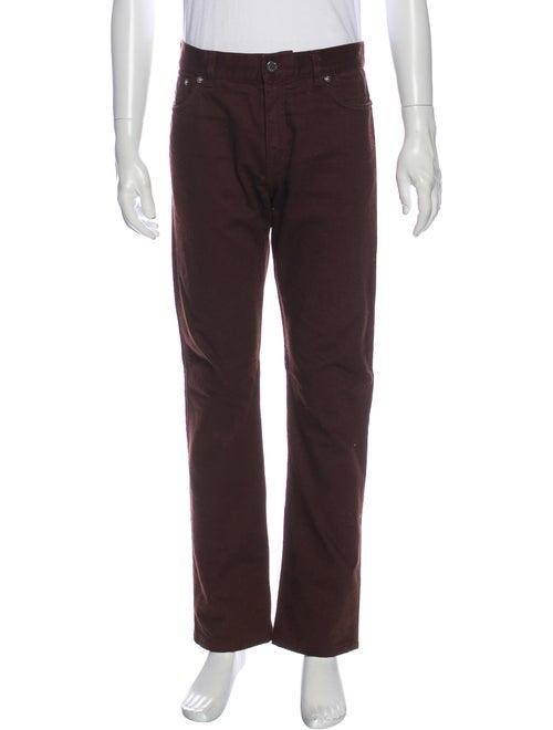 Louis Vuitton Straight-Leg Jeans Brown