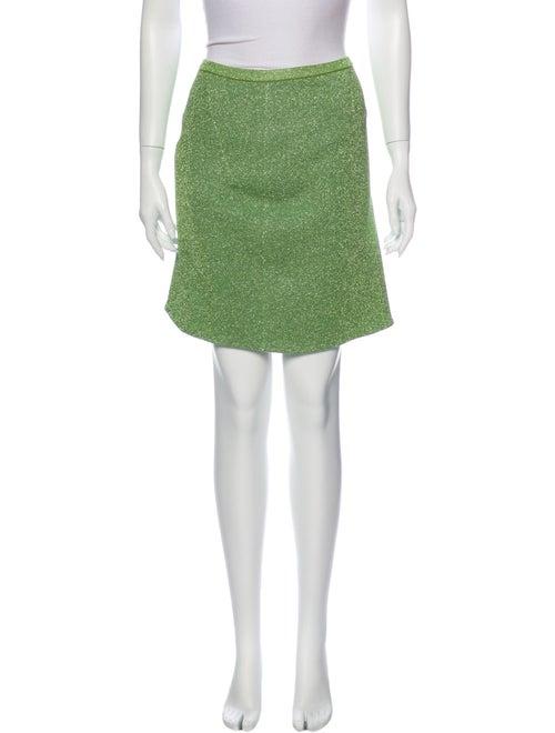 Louis Vuitton Mini Skirt w/ Tags Green