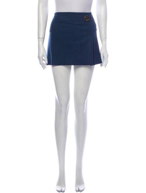 Louis Vuitton Wool Mini Skirt Wool