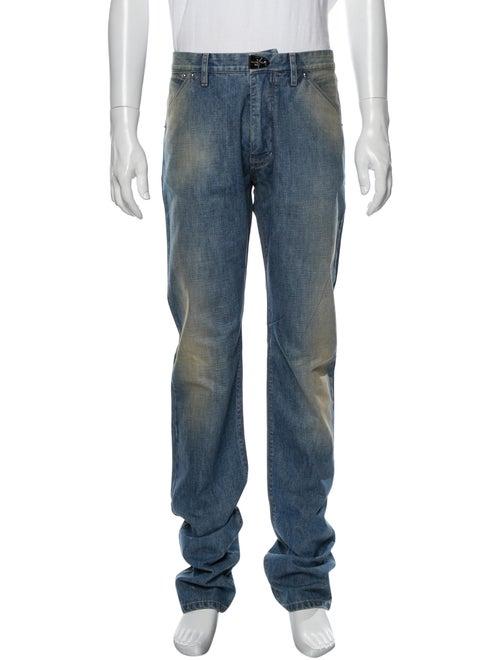 Louis Vuitton Skinny Jeans Blue