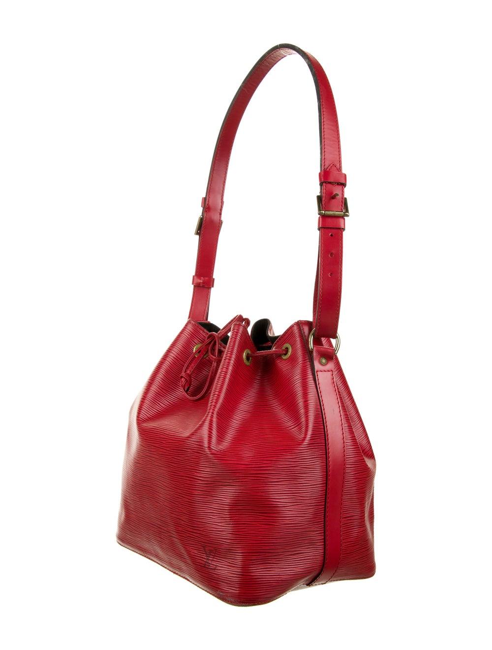 Louis Vuitton Vintage Epi Petit Noé Red - image 3