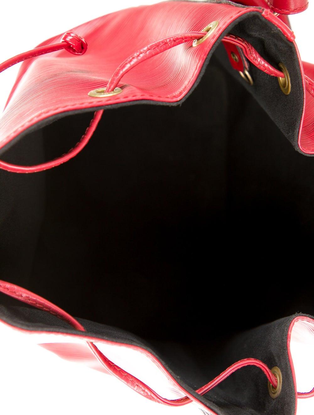 Louis Vuitton Vintage Epi Petit Noé Red - image 5
