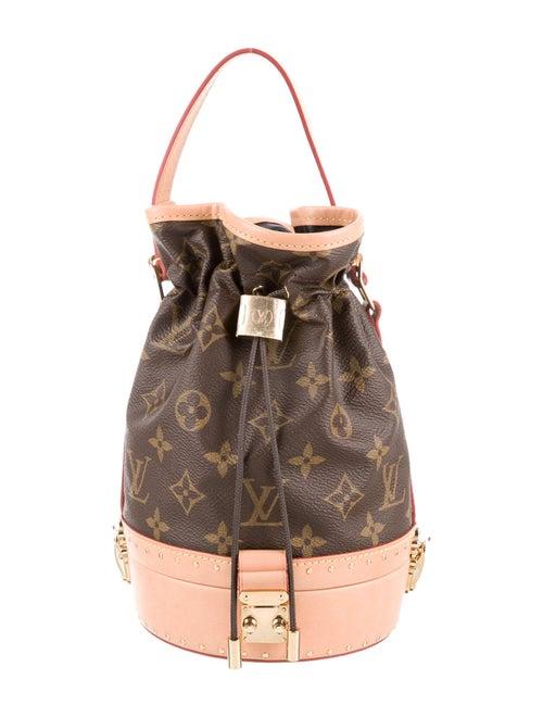 Louis Vuitton Monogram Petit Noé Trunk Bag Brown