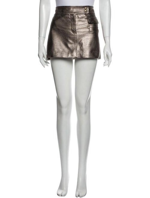 Louis Vuitton Mini Skirt Gold