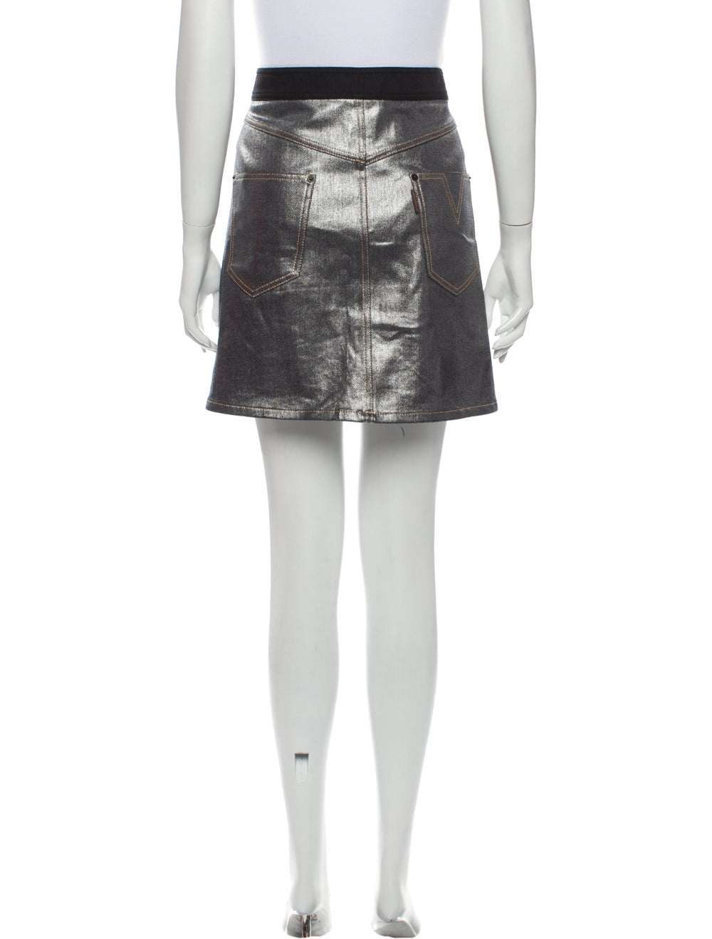 Louis Vuitton Mini Skirt Metallic - image 3