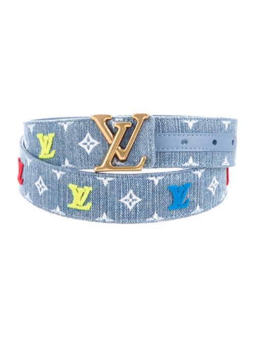 Louis Vuitton 2019 New Wave 35Mm Belt Blue