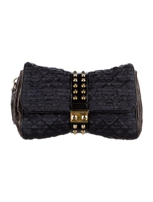 Louis Vuitton Coquette Pochette Clutch Black