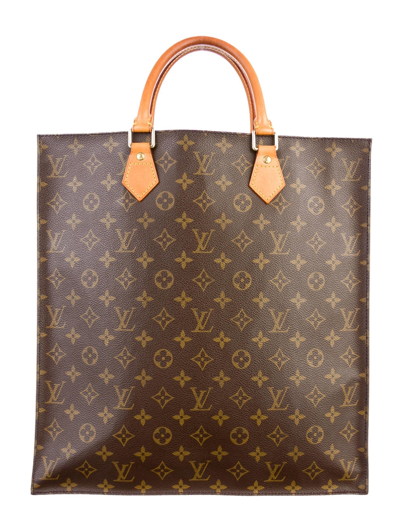 Louis vuitton monogram sac plat tote handbags lou36588 for Louis vuitton monogram miroir sac plat