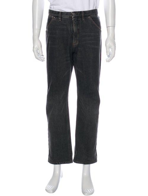 Louis Vuitton Straight-Leg Jeans Grey