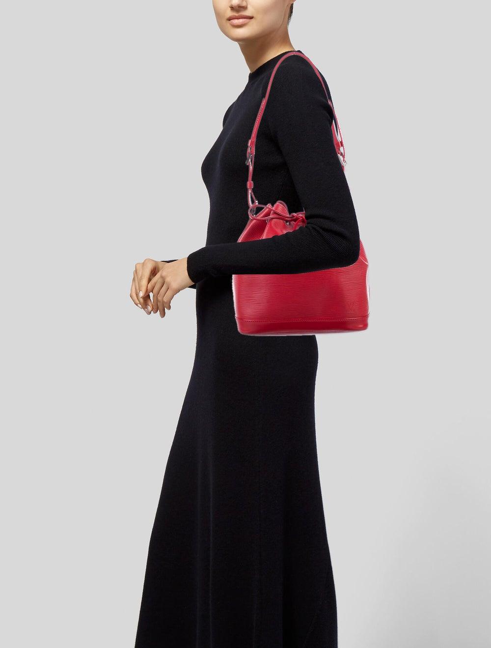 Louis Vuitton Epi Noé Red - image 2