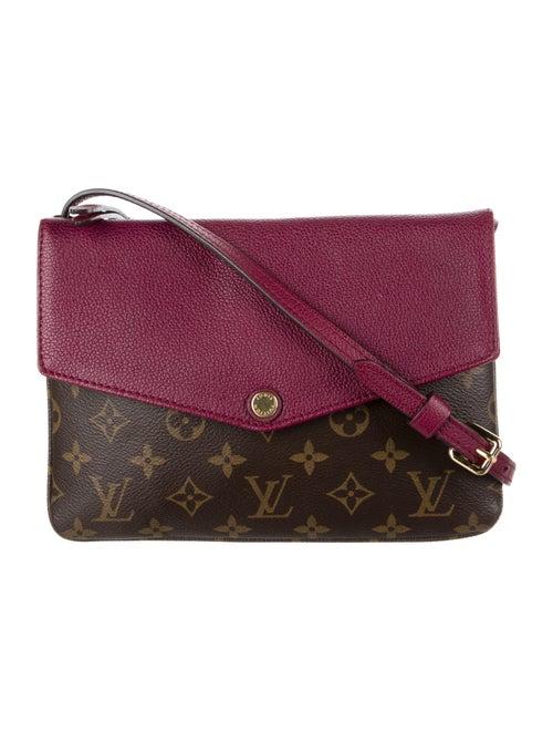 Louis Vuitton Monogram Twinset Bag Brown