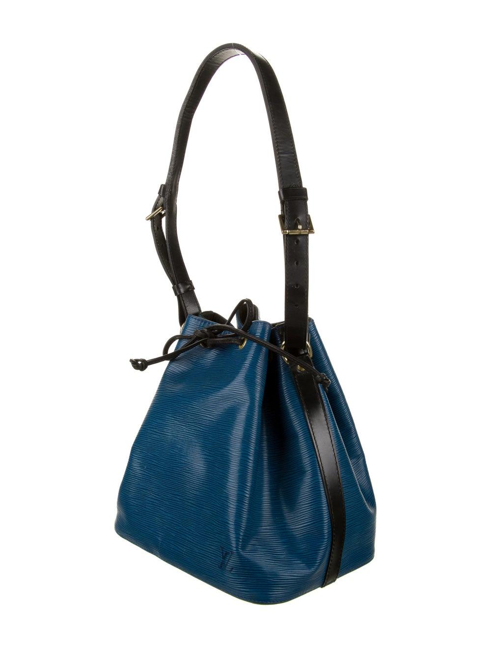 Louis Vuitton Vintage Epi Petit Noé Blue - image 3