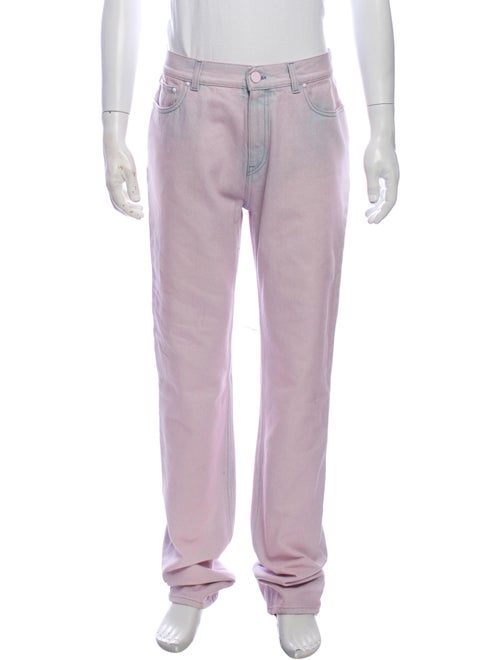 Louis Vuitton Straight-Leg Jeans Purple