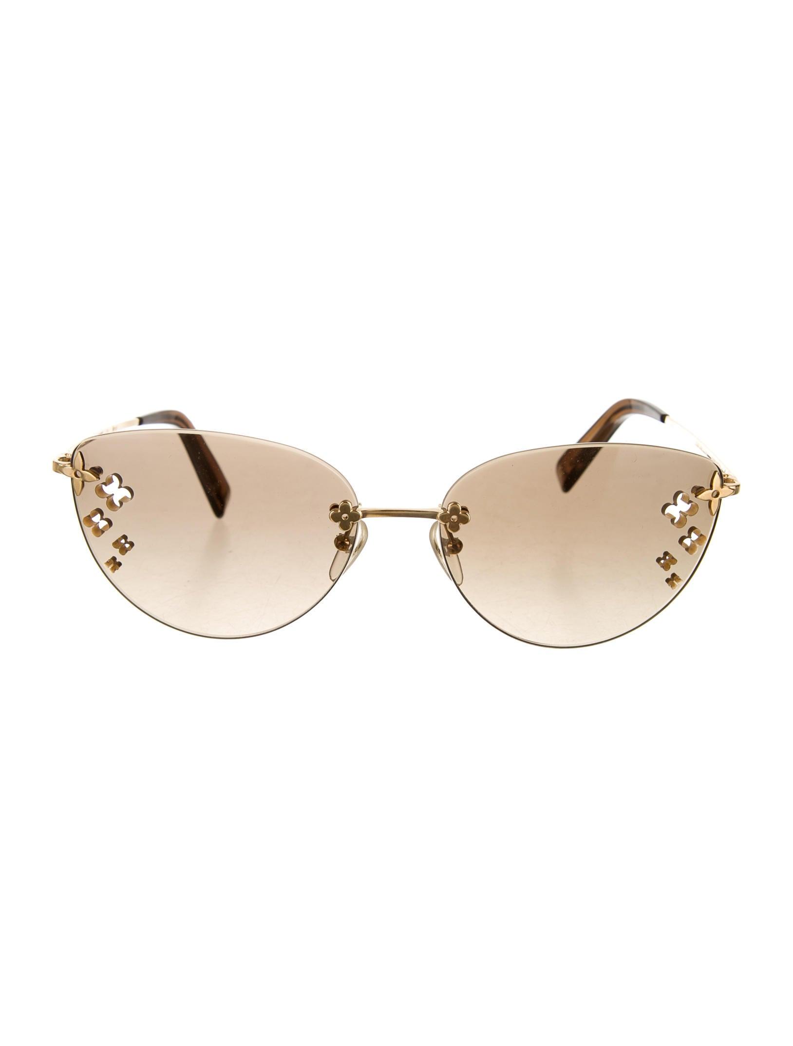 0afb7121a8 Louis Vuitton Desmayo Cat-Eye Sunglasses - Accessories - LOU37638 ...