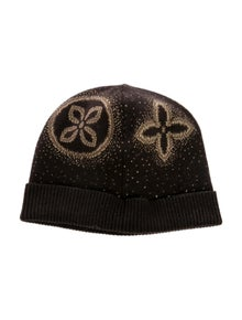 Louis Vuitton Cashmere Monogram Beanie