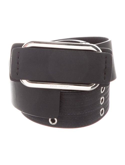 Louis Vuitton 2017 Leather Grommet Waist Belt Belt