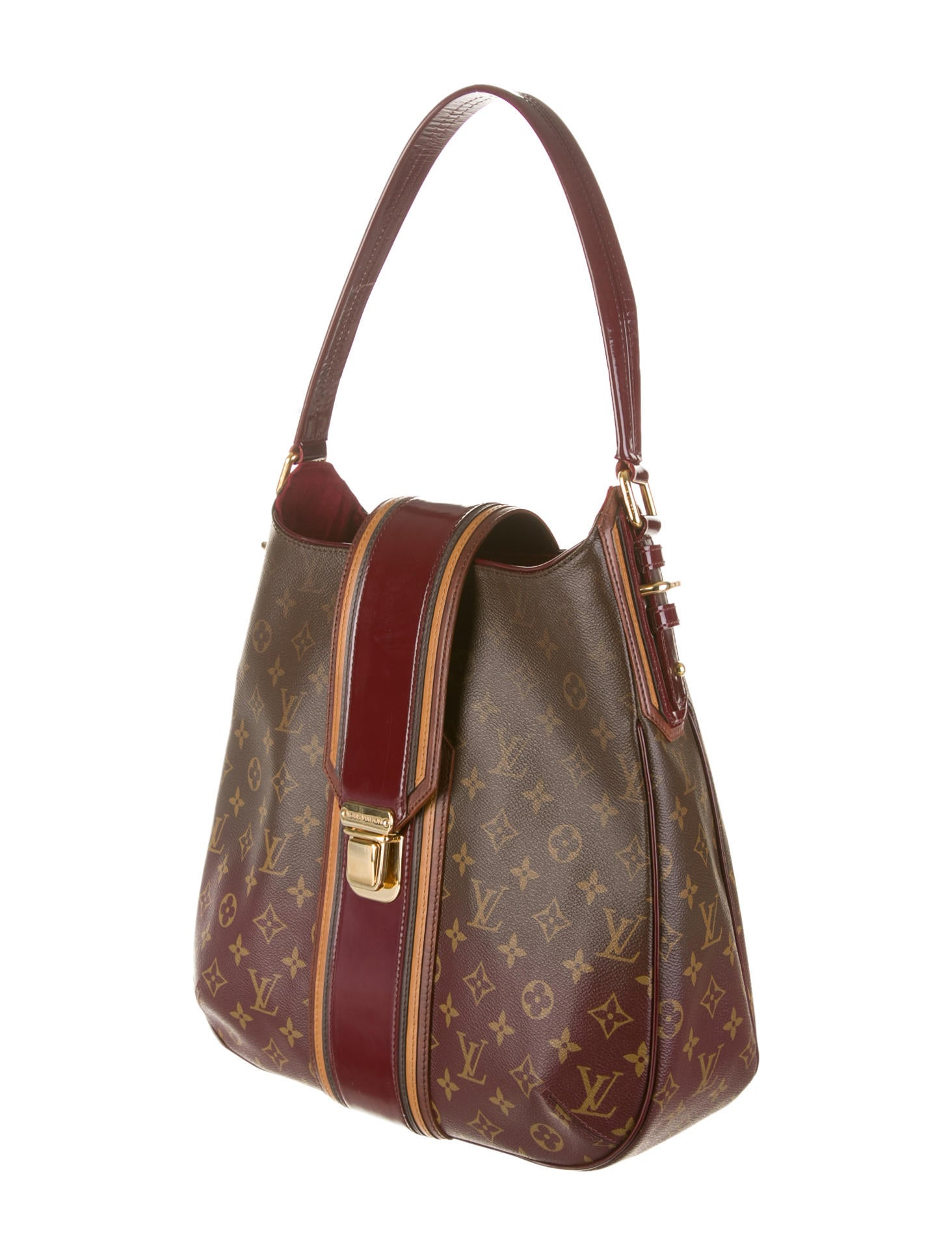 louis vuitton mirage musette bag handbags lou39775 the realreal. Black Bedroom Furniture Sets. Home Design Ideas