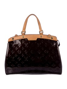 Louis Vuitton Monogram Vernis Brea MM w/ Strap