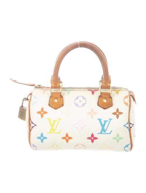 Louis Vuitton Multicolor Speedy HL White