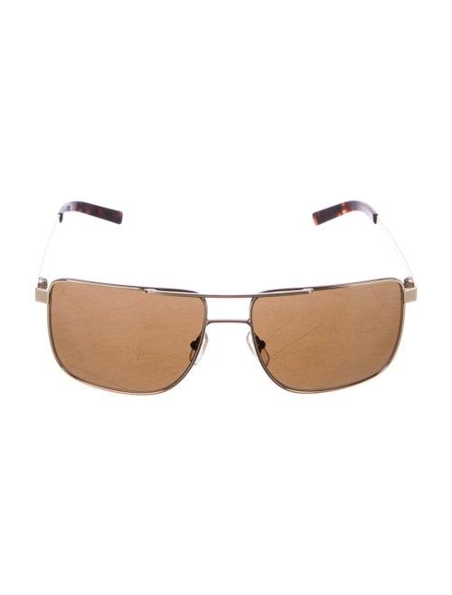 Louis Vuitton Vintage Jimmy Gold Sunglasses Gold