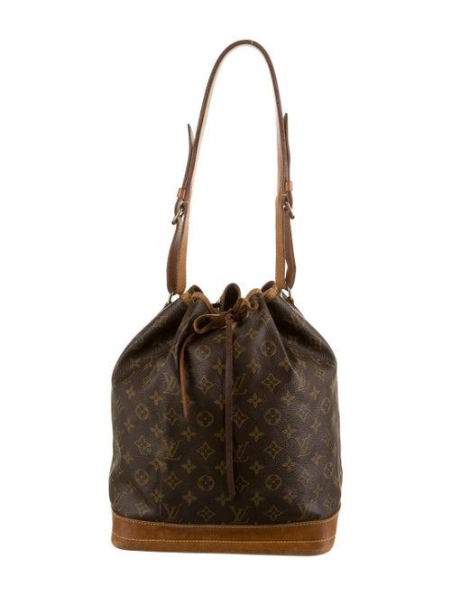 Louis Vuitton Monogram Noè GM Brown