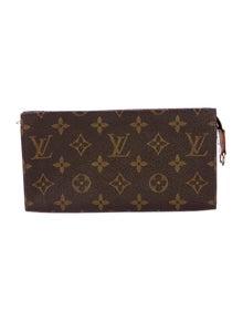 Louis Vuitton LV Monogram Coated Canvas Wallet