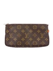 Louis Vuitton LV Monogram Coated Canvas Pouch
