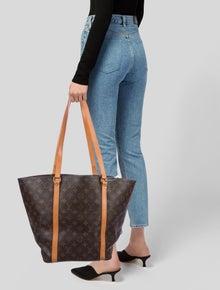 Louis Vuitton Vintage Monogram Sac Shopping Tote