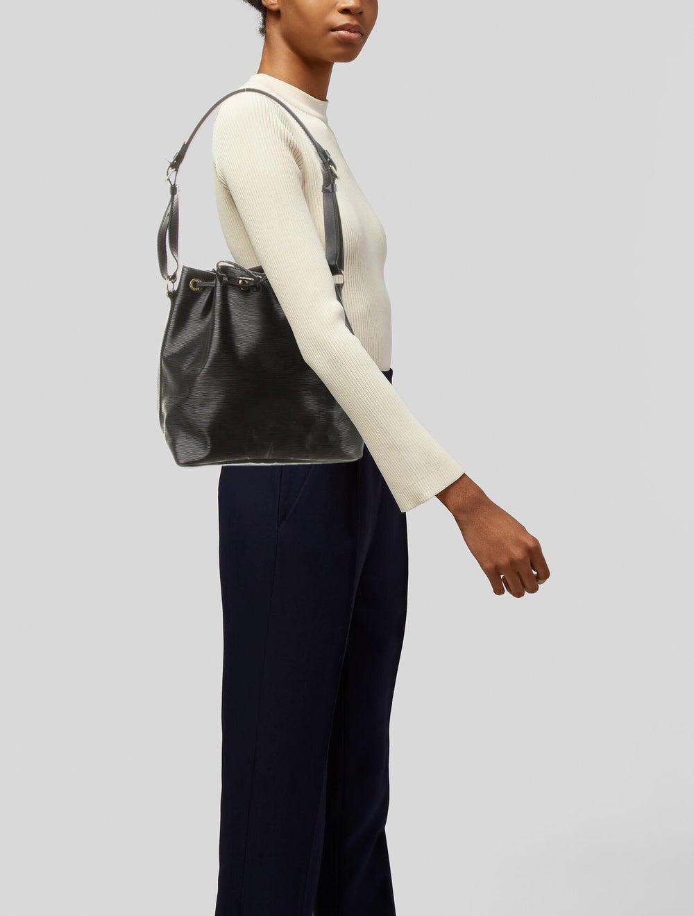 Louis Vuitton Epi Petit Noé Black - image 2