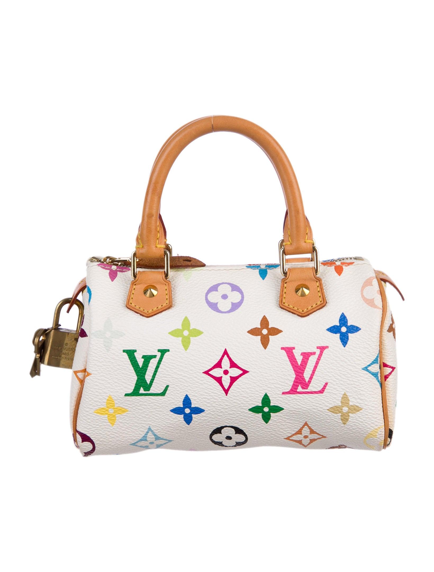 Louis Vuitton Multicolore Mini HL Speedy - Handbags - LOU40516  0d1e14a70cb52
