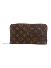 Louis Vuitton LV Monogram Coated Canvas Continental Wallet