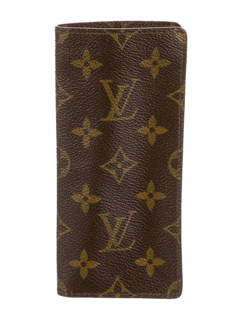 Louis Vuitton Vintage Etui Lunettes Brown