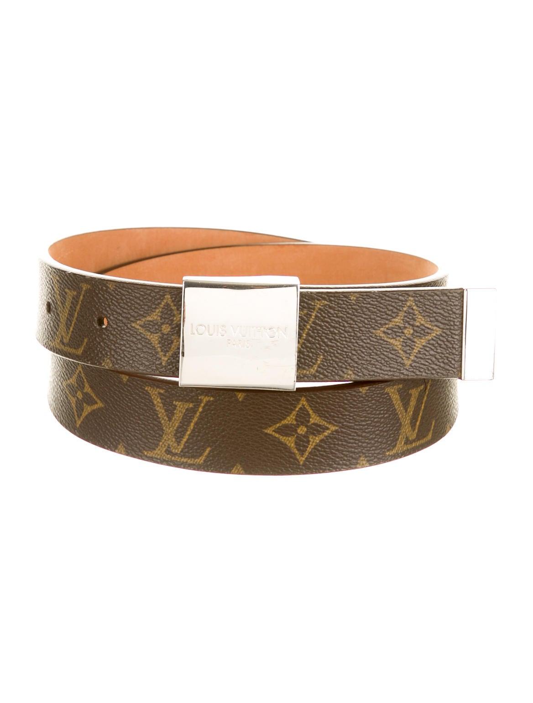 Louis Vuitton Monogram Belt - Accessories - LOU40770   The RealReal  Louis Vuitton M...