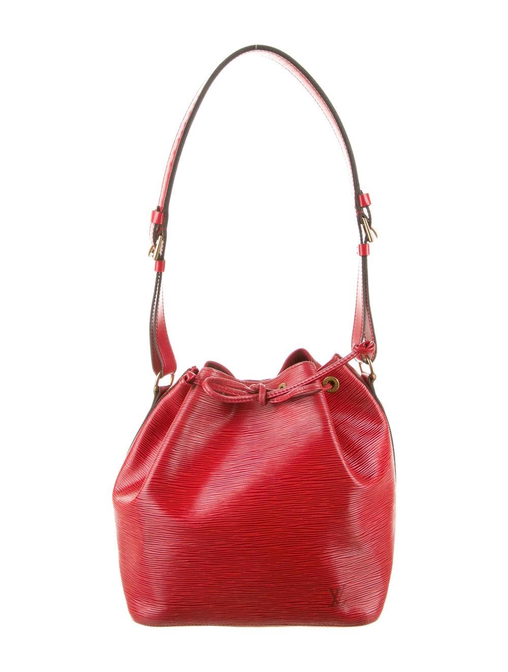 Louis Vuitton Epi Petit Noe Red - image 1