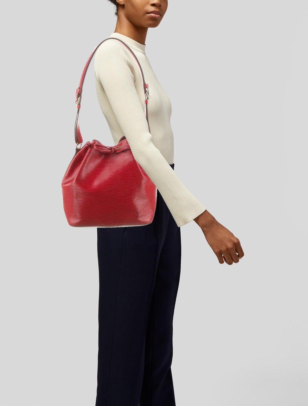 Louis Vuitton Epi Petit Noe Red - image 2
