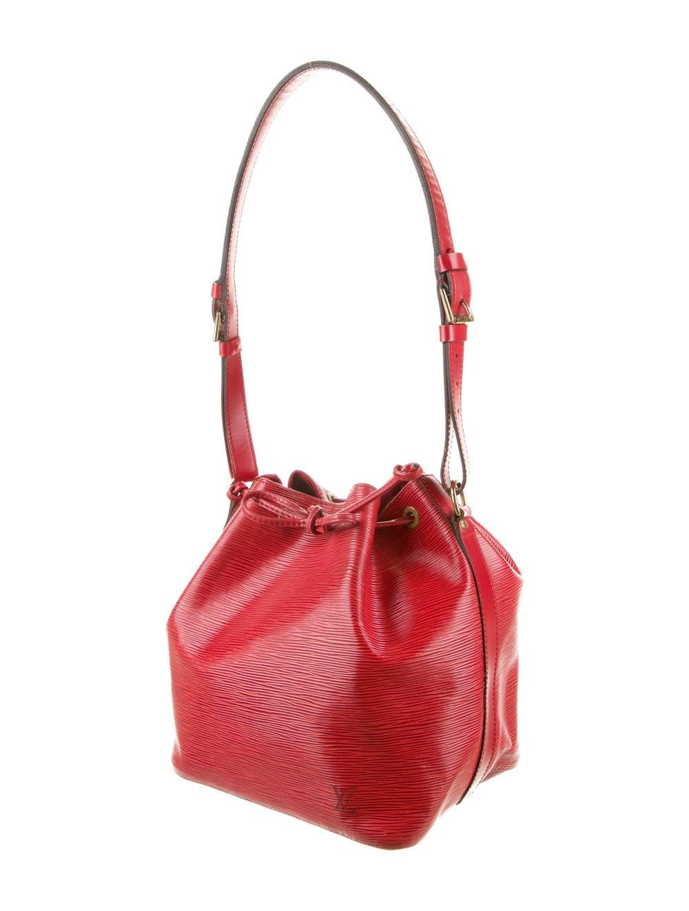 Louis Vuitton Epi Petit Noe Red - image 3